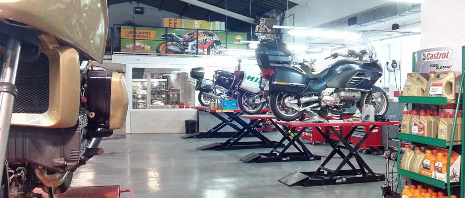 Taller Multimarca de Motocicletas en Boadilla del Monte – Madrid